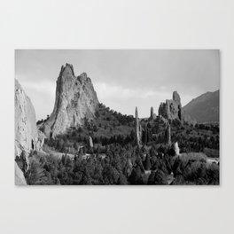 Garden of the Gods Canvas Print