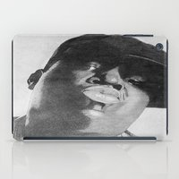 notorious iPad Cases featuring Notorious B.I.G by tyler Guill
