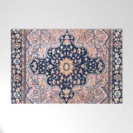 Sarouk  Antique West Persian Rug Print Welcome Mat
