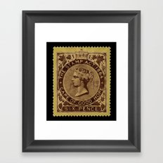 Tax Stamp 1864 - 019 Framed Art Print