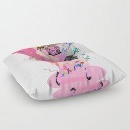 1980s GIRL Floor Pillow