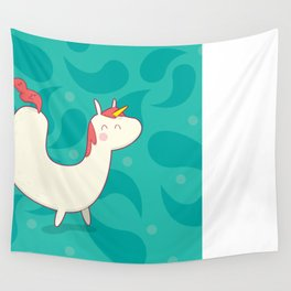 U is for unicorn Wall Tapestry