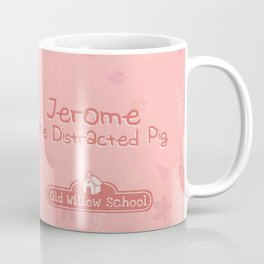 Jerome the Distracted Pig Coffee Mug