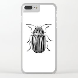 Beetle 06 Clear iPhone Case
