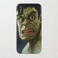 hulk iPhone & iPod Cases featuring Hulk by Jeff Delgado