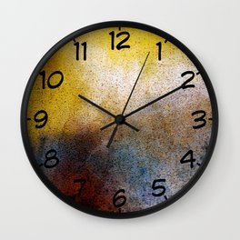 Daybreak in the Hills Wall Clock