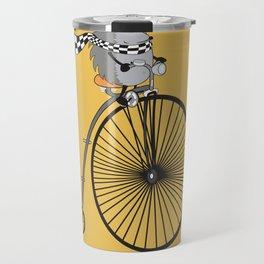 old school biker Travel Mug