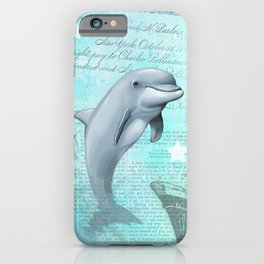 Happy Dolphin iPhone Case