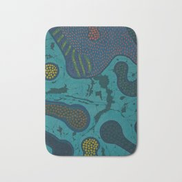 """Creative Womb"" by ICA PAVON Bath Mat"