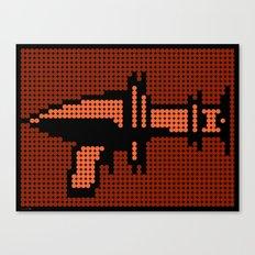 Space Adventure: Ray Gun Canvas Print