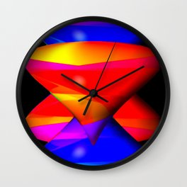 Perspective by funnels ... Wall Clock