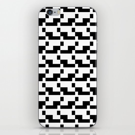 Blankaart Black & White Pattern iPhone & iPod Skin