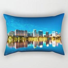Orlando Skyline Rectangular Pillow