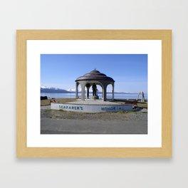 Seafarers Memorial Framed Art Print