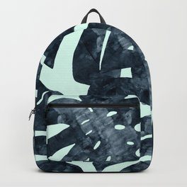 Composition tropical leaves XVIII Backpack