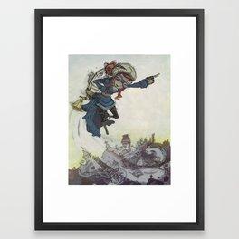 The Inventor Framed Art Print