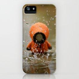 The Rain KILLED KENNY!  iPhone Case