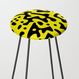 QR Clothes Yellow - Accessories Counter Stool