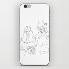 Mapplethorpe x Smith iPhone Skin