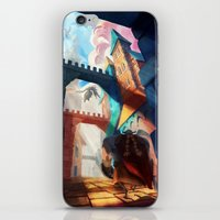dragons iPhone & iPod Skins featuring Dragons by youcoucou