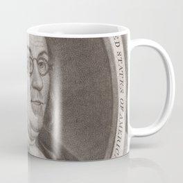 Vintage Portrait of Ben Franklin (1787) Coffee Mug
