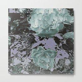Soft Roses Metal Print