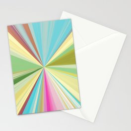 415 Abstract Colour design Stationery Cards
