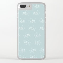 Floral Pattern #1 #decor #art #society6 Clear iPhone Case