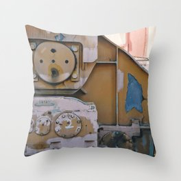 industrial pastels 1 Throw Pillow