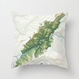 National Conservation Lands - Wild Rogue Wilderness (2014) Throw Pillow