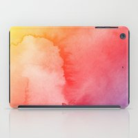 gradient iPad Cases featuring Watercolor Gradient by Andre D