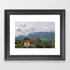 Saint-Lizier, France Framed Art Print