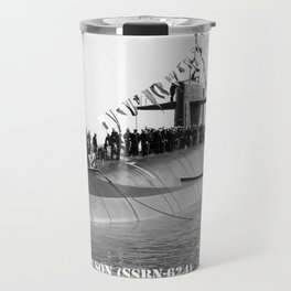 USS WOODROW WILSON (SSBN-624) Travel Mug