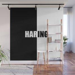 HARING, Inspiration Shirt, Keith Haring, Haring Shirt, Keith Haring Print, Haring, Haring Print, Har Wall Mural