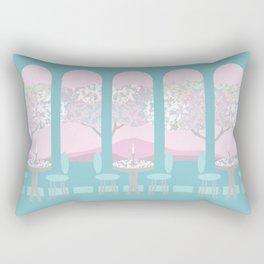 Pastel Cafe Rectangular Pillow