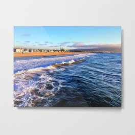 "Hermosa Beach ""On the Pier 2"" Metal Print"