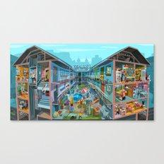 Budpapest Bang summer Canvas Print