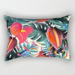 Floresta Exótica Rectangular Pillow
