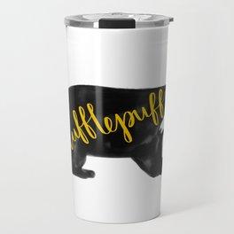 Hufflepuff Badger Travel Mug
