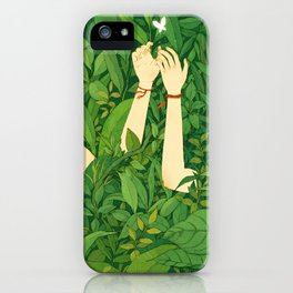 I wanna love u now iPhone Case