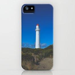 Split Point Lighthouse iPhone Case
