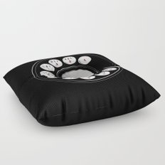 Rotary Me Floor Pillow