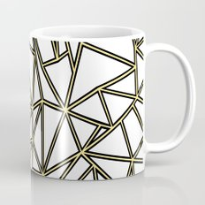 Ab Blocks White Gold Coffee Mug
