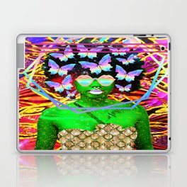 Summer and butterflies Laptop & iPad Skin