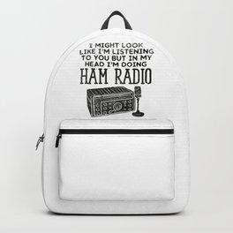 Ham Radio Operator CB Ham Amateur Radio  Backpack