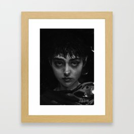 The Branded Girl Framed Art Print
