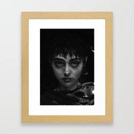 The Branded Girl Framed Art Print