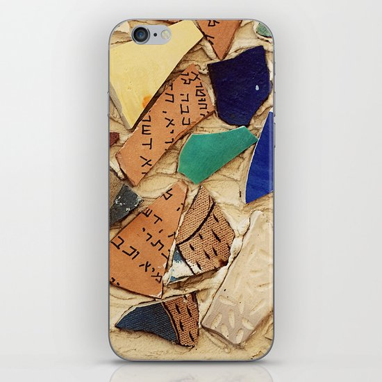 Neve Zedek Mosaic Wall iPhone & iPod Skin