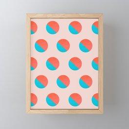 Abstraction_DOT_LOVE_002 Framed Mini Art Print
