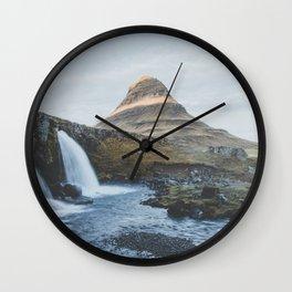 Kirkjufell II, Iceland Wall Clock